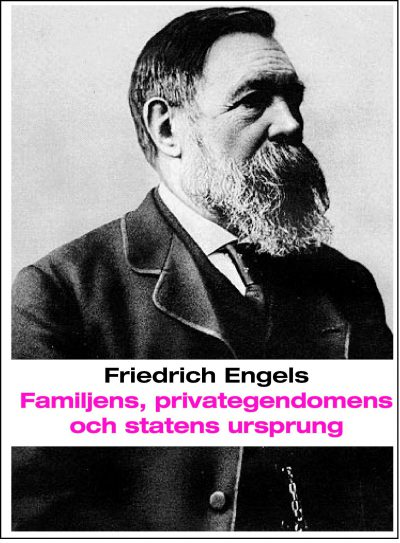 Familjens, privategendomens och statens ursprung omslag